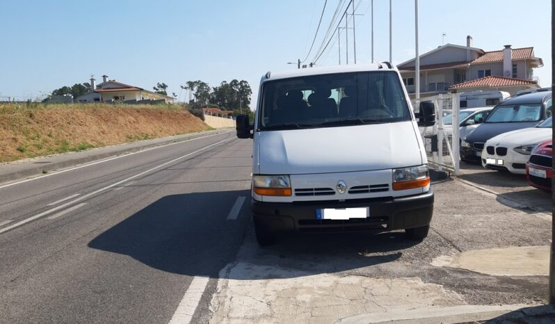 RENAULT MASTER 2.5 D  – 6 LUGARES completo